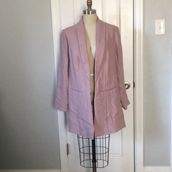 Soft Surroundings Jackets & Blazers - Soft Surroundings Dusty Pink Blazer